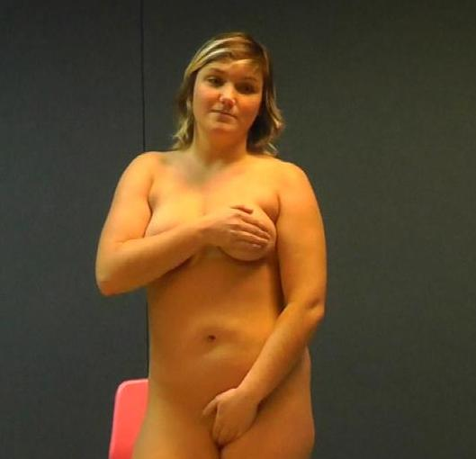 Skyping with a real school teacher sexy blonde